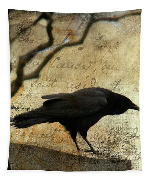 Curious Crow Tapestry