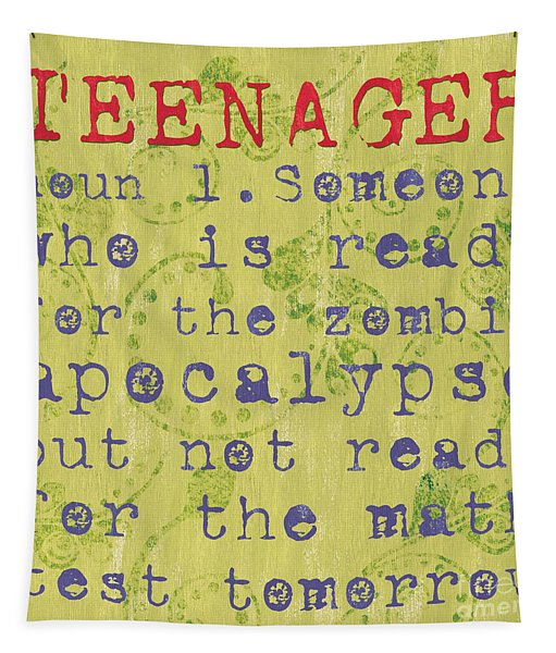 Definition Of Teenagers Tapestry