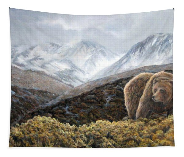 Driven To Rest Tapestry