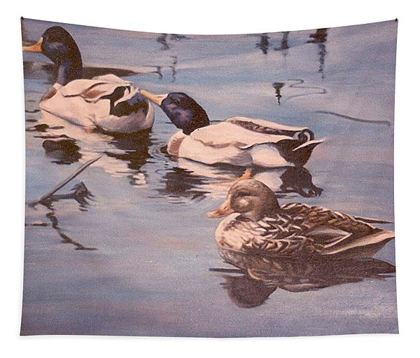 Ducks On The Cachuma Tapestry