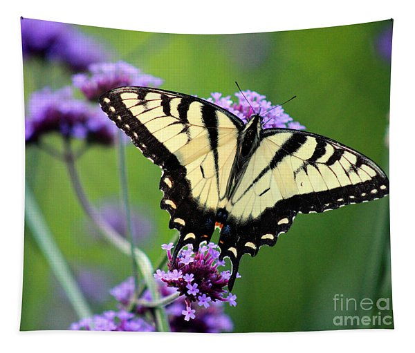 Eastern Tiger Swallowtail Butterfly 2014 Tapestry