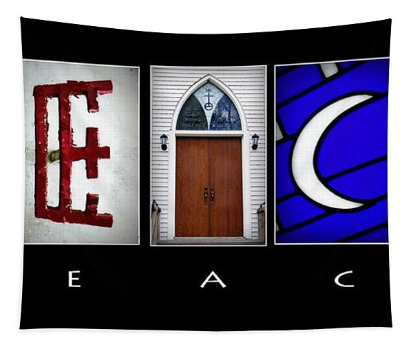 Elements Of Peace Tapestry