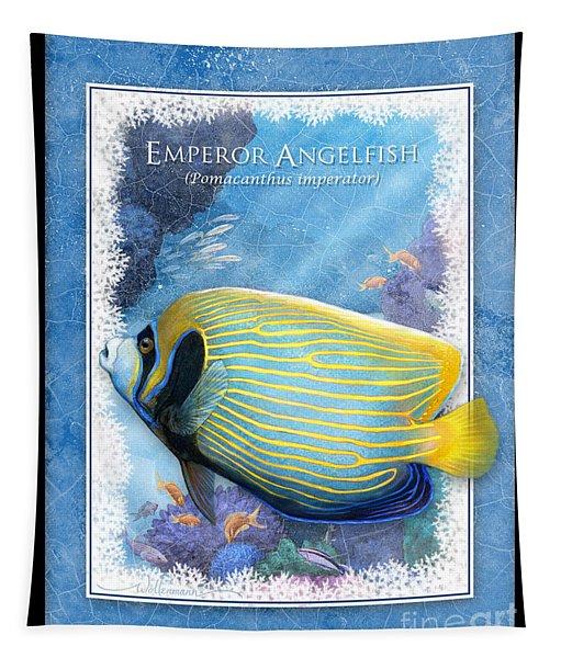 Emperor Angelfish Tapestry