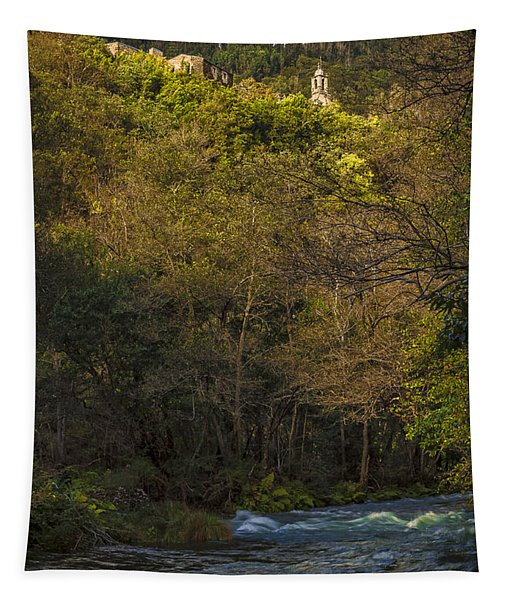 Eume River Galicia Spain Tapestry