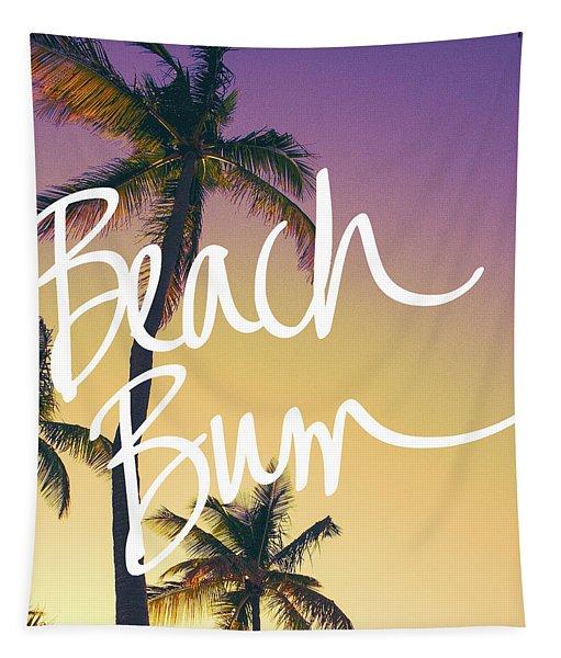 Evening Beach Bum Tapestry