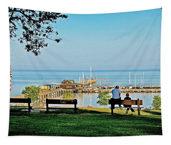 Fairhope Alabama Pier Tapestry