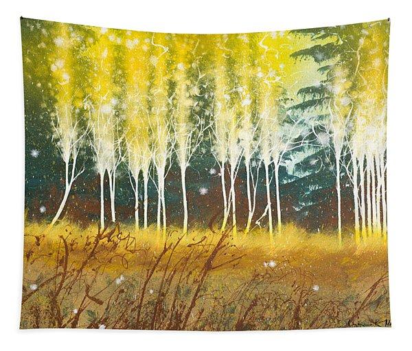 Fairy Trees Tapestry