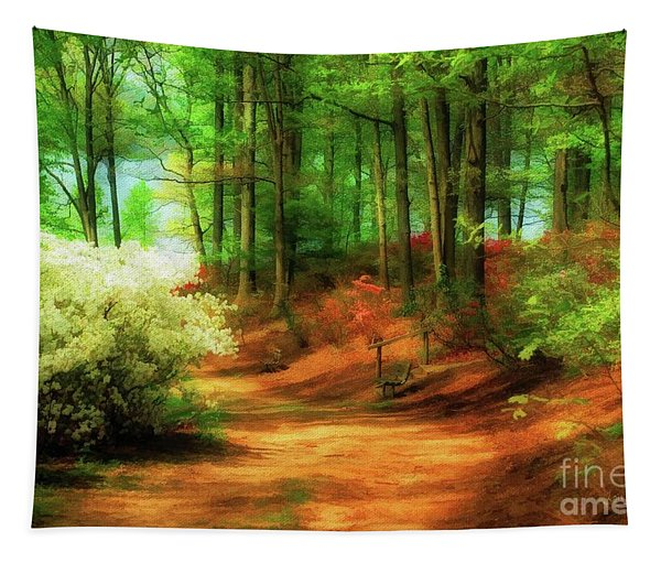 Favorite Path - Painterly Tapestry