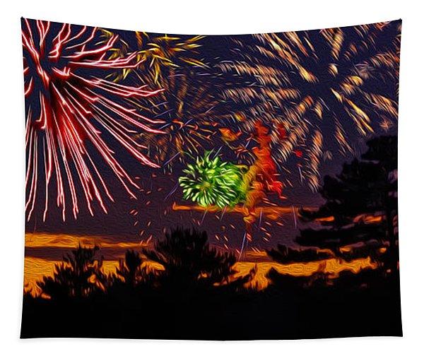 Fireworks No.1 Tapestry