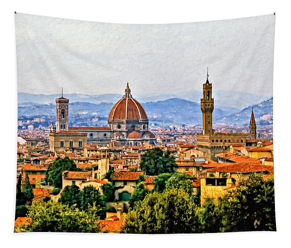 Florence - Oil Tapestry