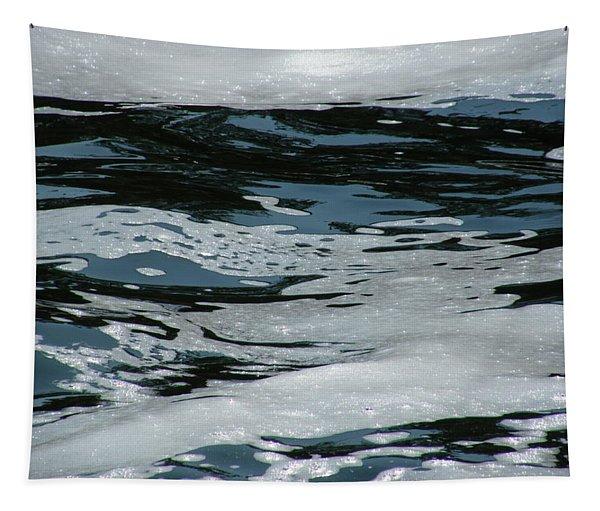 Foam On Water Tapestry