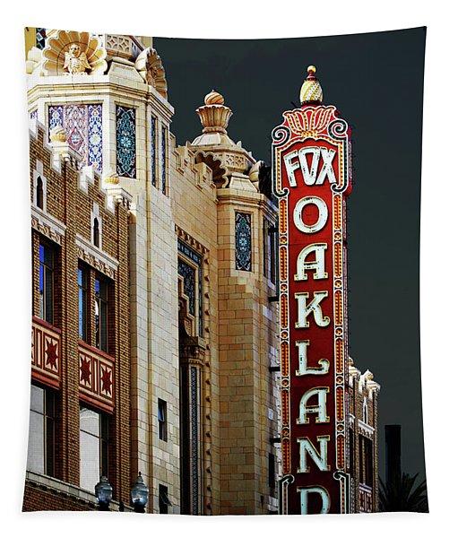Fox Theater . Oakland California Tapestry