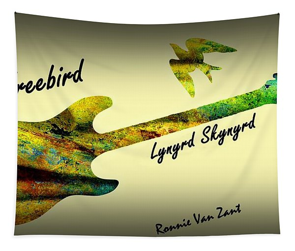 Freebird Lynyrd Skynyrd Ronnie Van Zant Tapestry