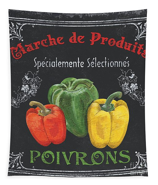 French Vegetables 3 Tapestry