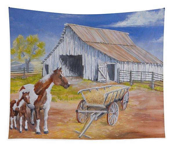 Fresh Paint Tapestry