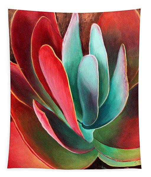 Garnet Jewel Tapestry