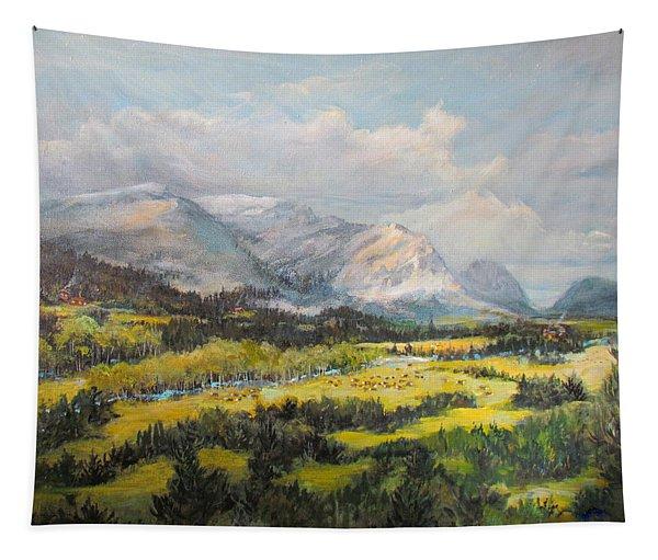 Glacier Splendor Tapestry