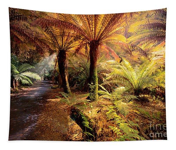 Golden Forest Tapestry