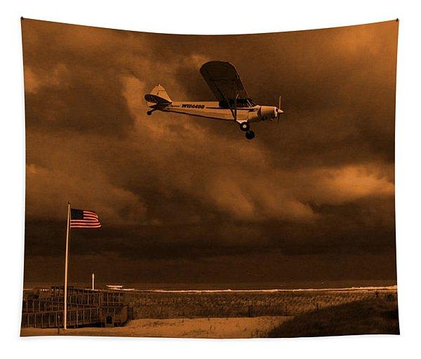 Good Night Wildwood Beach Tapestry