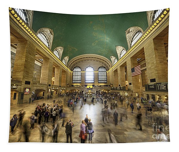 Grand Central Rush Tapestry