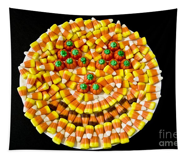 Halloween Candy Tapestry