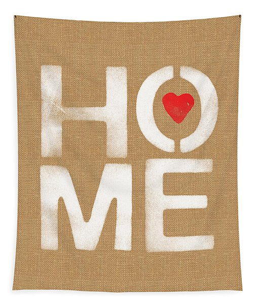 Heart And Home Tapestry