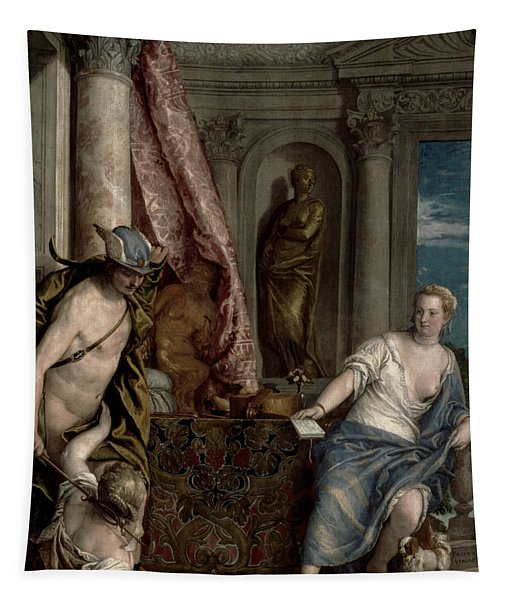 Hermes, Herse And Aglauros, C.1576-84 Tapestry