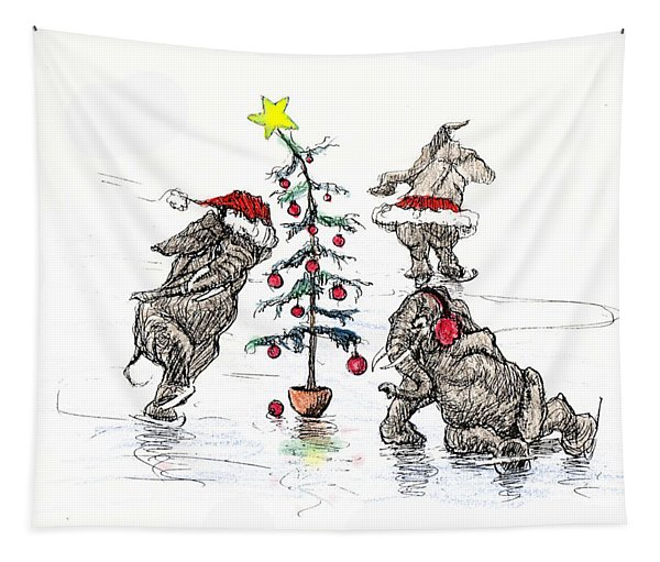 Holiday Ice Tapestry