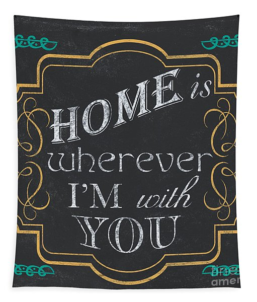 Home Is... Tapestry