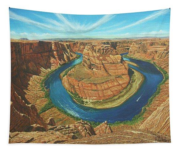 Horseshoe Bend Colorado River Arizona Tapestry