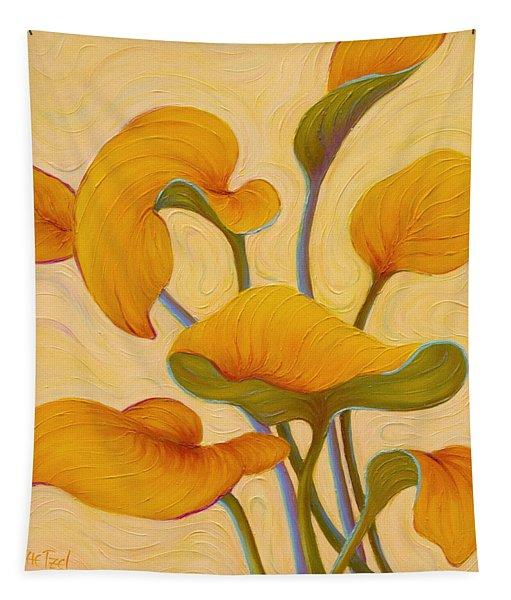 Hosta Hoofin' Tapestry