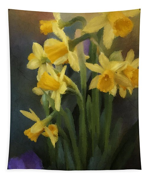 I Believe - Flower Art Tapestry