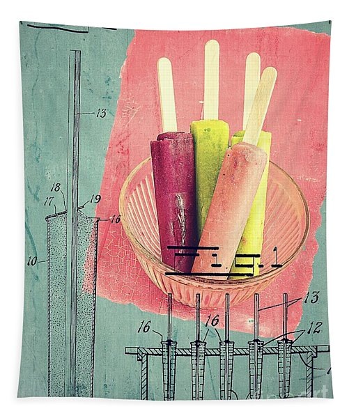 Invention Of The Ice Pop Tapestry