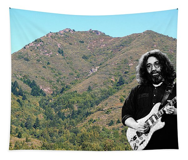 Jerry Garcia And Mount Tamalpais Tapestry