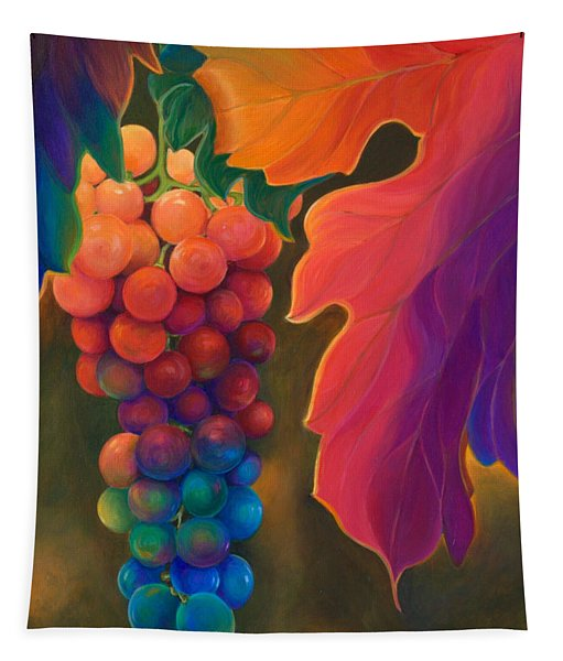 Jewels Of The Vine Tapestry
