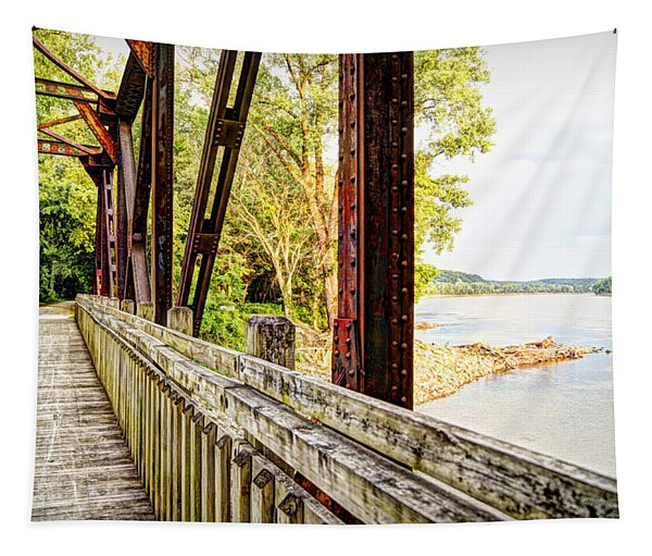 Katy Trail Near Coopers Landing Tapestry