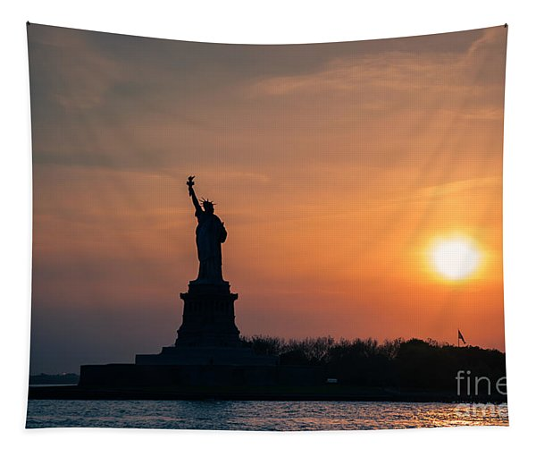 Lady Liberty Tapestry