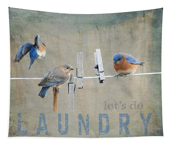 Laundry Day - Lets Do Laundry Tapestry