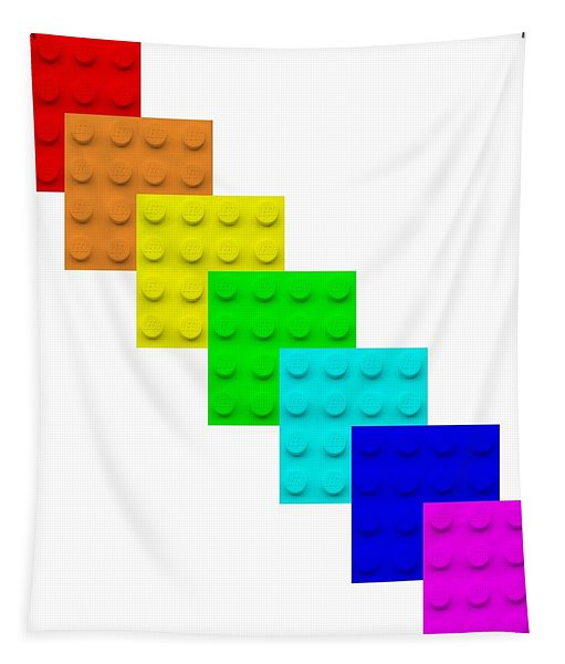 Lego Box White Tapestry