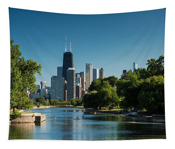 Lincoln Park Chicago Tapestry