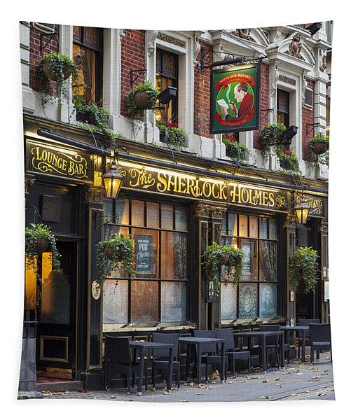 London Pub Tapestry