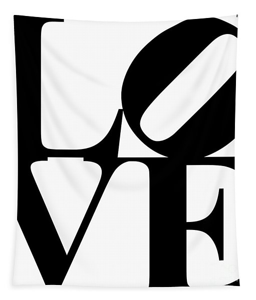 Love 20130707 Black White Tapestry