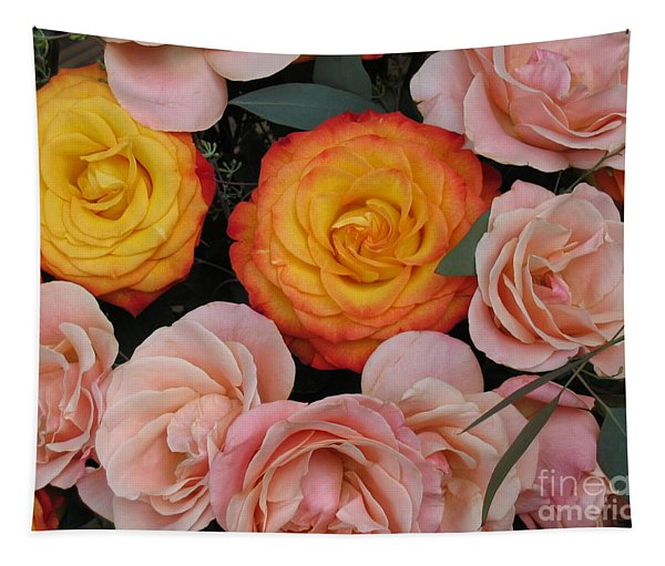 Love Bouquet Tapestry