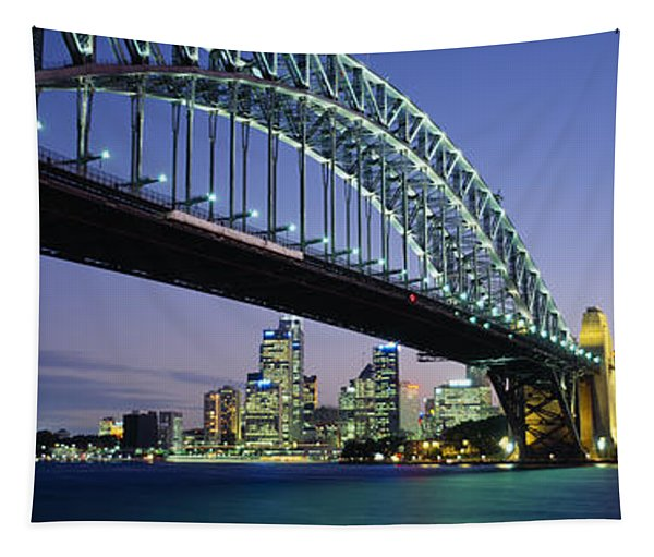 Low Angle View Of A Bridge, Sydney Tapestry