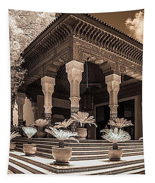Mamounia Hotel In Marrakech Tapestry