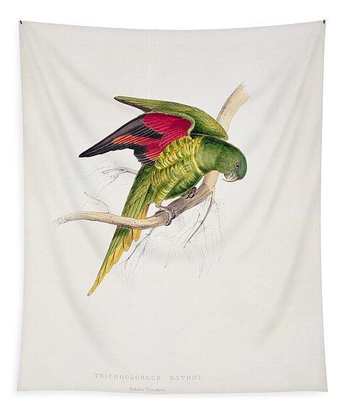 Matons Parakeet Tapestry