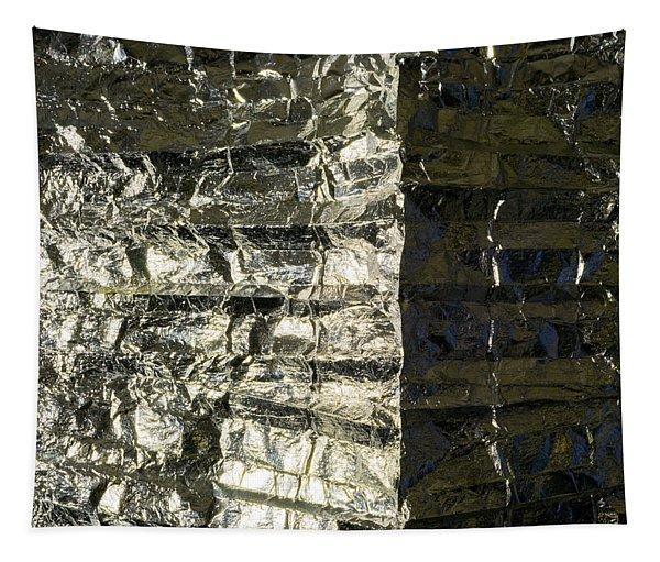 Metallic Reflection Tapestry