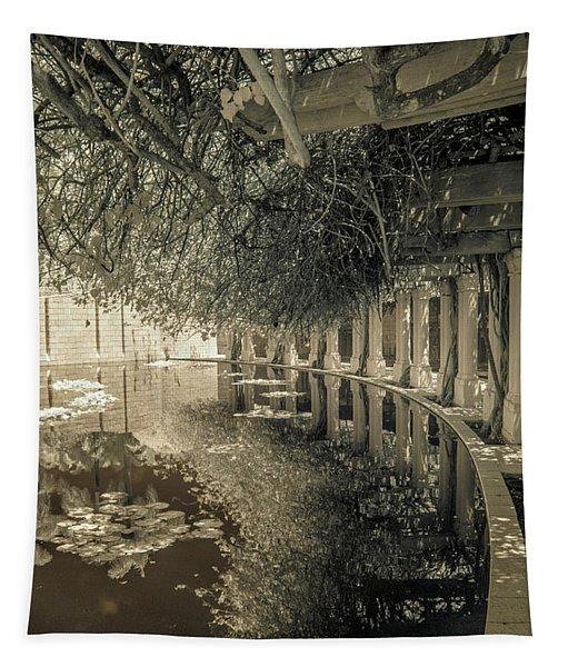 Miami Beach Lake 2 Tapestry