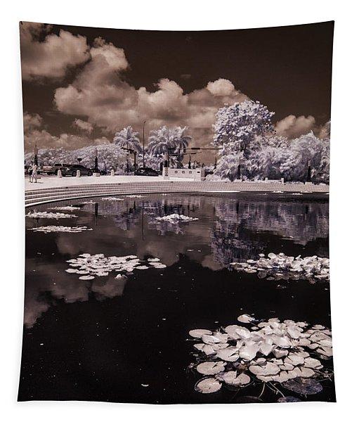 Miami Beach Lake Tapestry