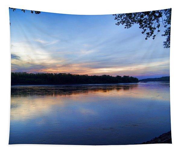 Missouri River Blues Tapestry